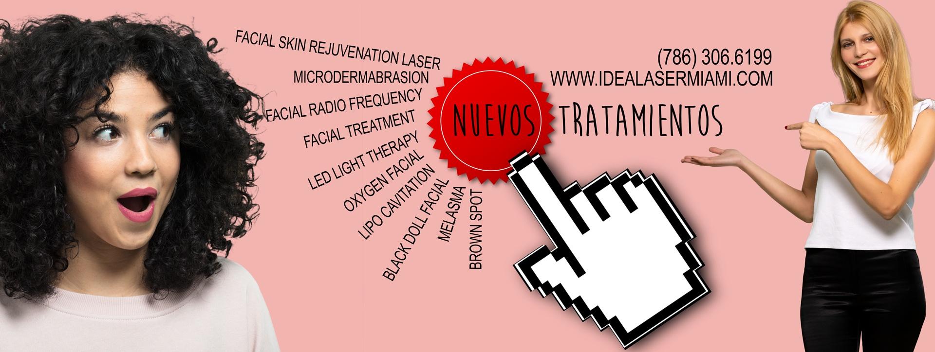 Tratamientos de belleza y cosméticos con tecnología láser.